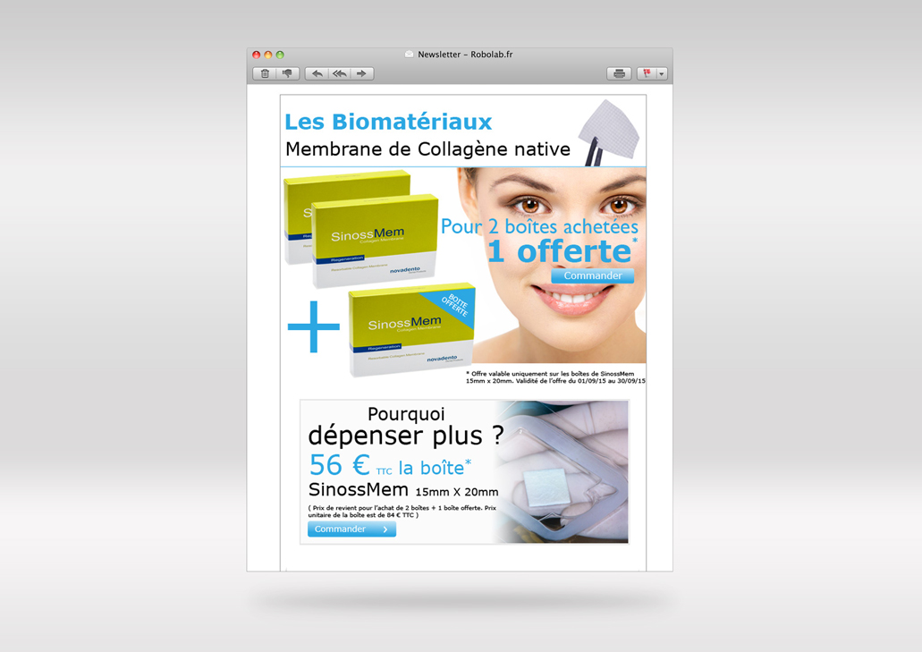 Cr&ation campagne emailing pour ecommerce